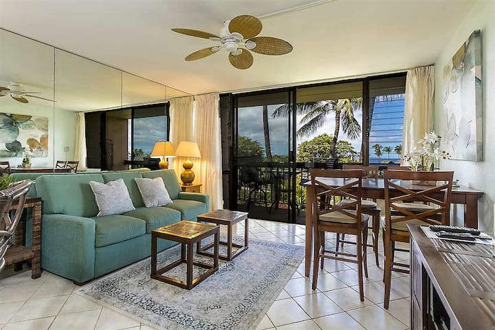 Fun Ocean View Condo at Maui Vista Resort in Kihei
