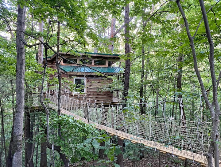 Treehouse experience in WAVL, Tinyhouse in Trees.