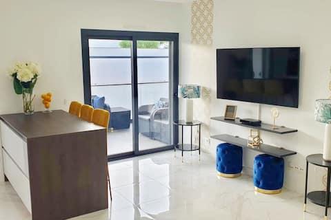 Appartement Cabanas Tavira   Superbe terrasse et piscine