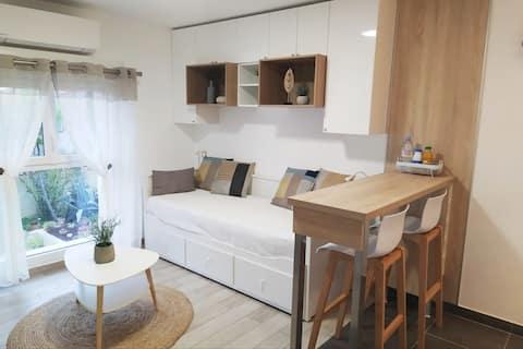 Dejlig ny moderne og praktisk studio på 22 m2.