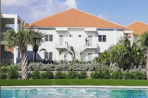Casa Rosa Curaçao: Tranquilo, piscina, aire acondicionado!