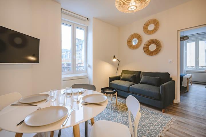 L'appartement Scandinave - Proche Centre-ville