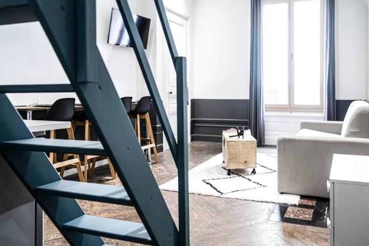 Appart' hôtel  hypercentre: studio'' Le Monnet''
