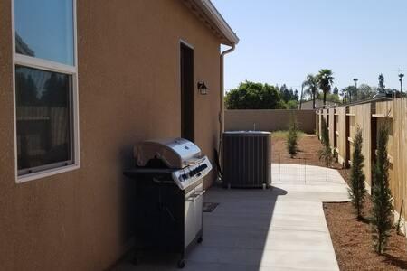 Guest Suite side entrance patio.
