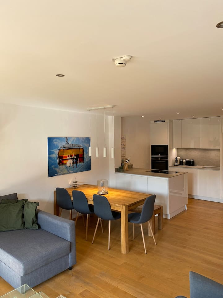 Moderne komfortable Wohnung in Hinterthal