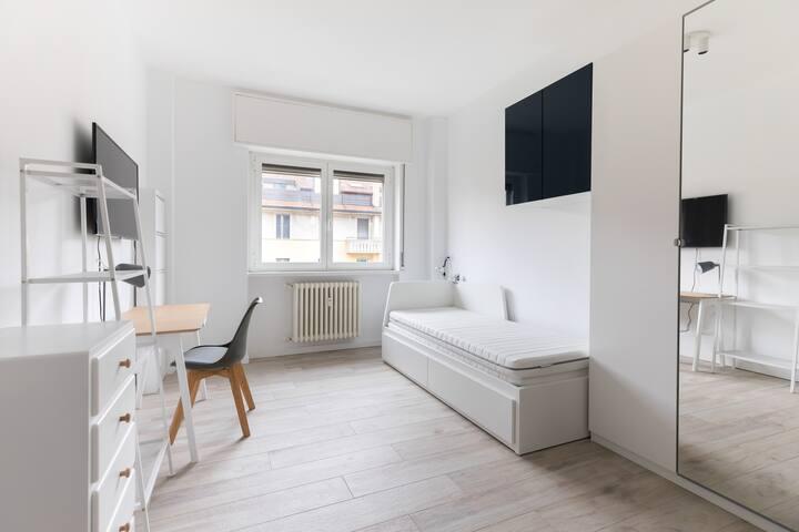 Suite3 con bagno privato - Metro3 - Lunghi periodi