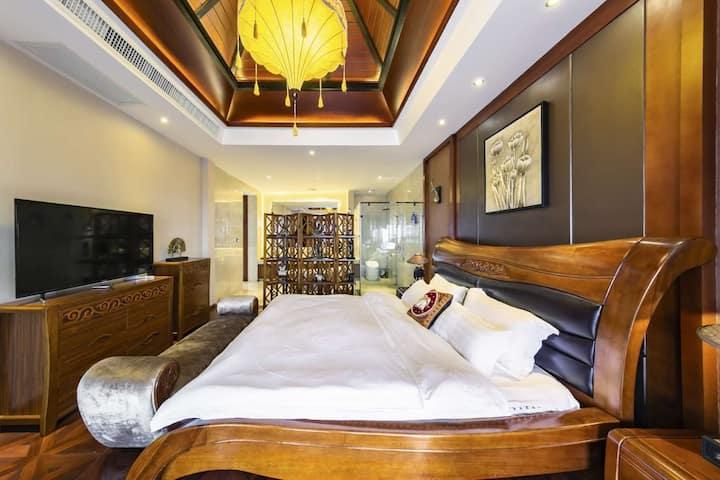 傣式风格别墅