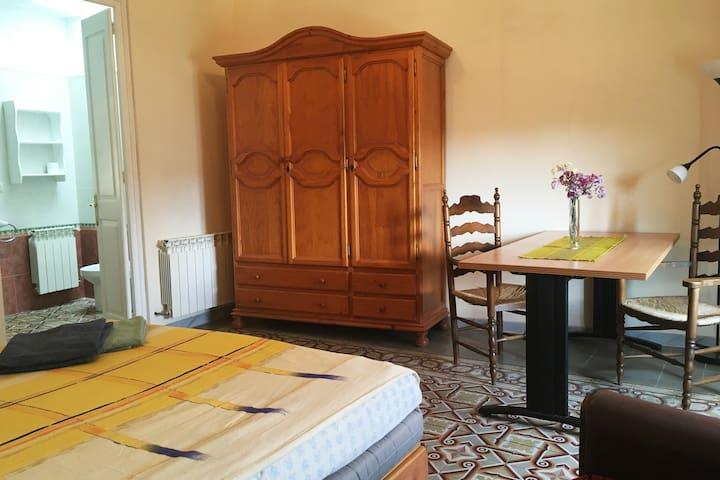 Habitación Suite amplia con baño privado