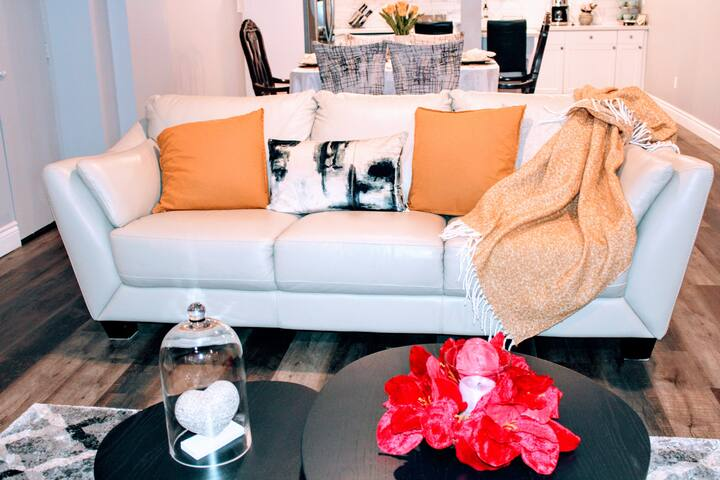 Chic, Modern and Sanitized apartment. 3BRM Private