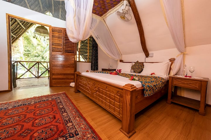 Utupoa, Kibonge suite: our new home away from home