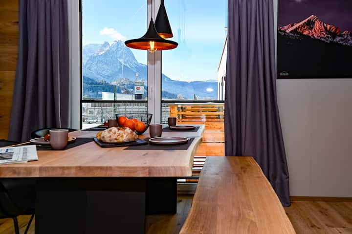 moun10 2-Room Deluxe Ap.with terrace-mountain view