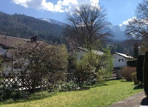 Alpspitzblick - Вид на Альпспиц