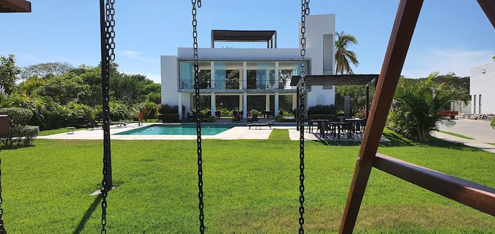 Brand new house in a private sector of N. Vallarta