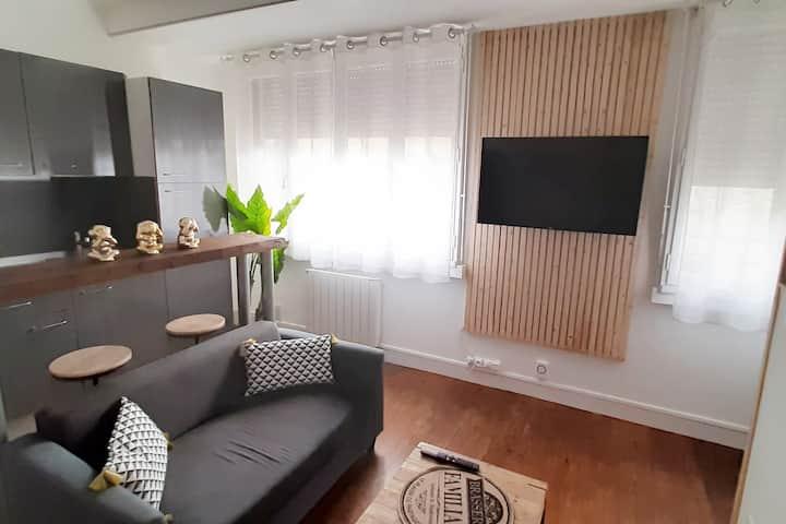 Appartement entier cosy WIFI NETFLIX