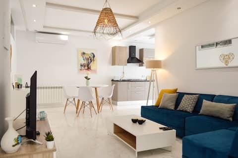 Luxury Apartment @ La Marsa | 2 bed 1 Bath