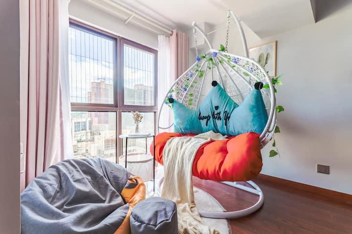 【Mojito】师院 loft 情侣房 有休闲区 阳光房 可做饭 一居室
