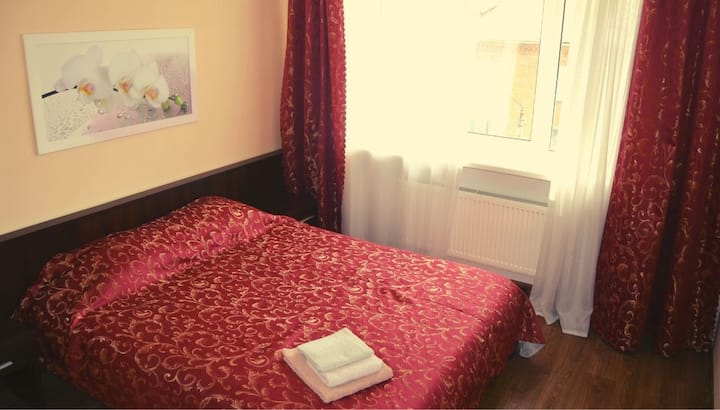 A cosy double room in the hotel
