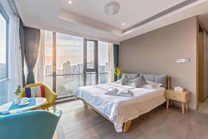 【京杭运河畔】180度城景精装一居大床房