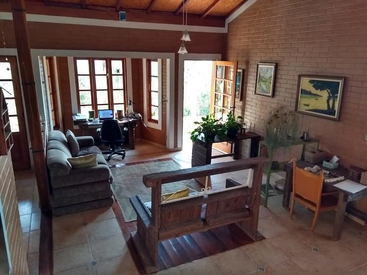 Home office rural, experiência e estadia estendida