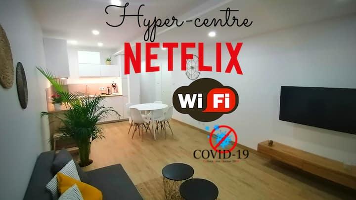 Cocon cosy et moderne au centre de Voiron