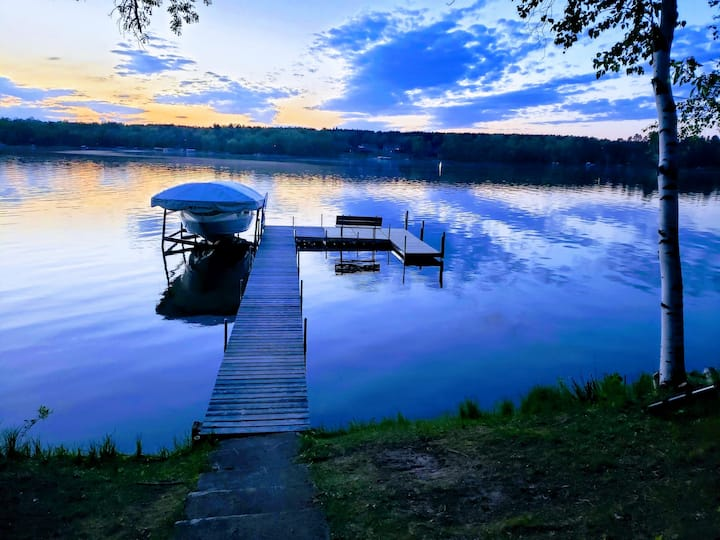 Breezy Point Ossie Lake Home