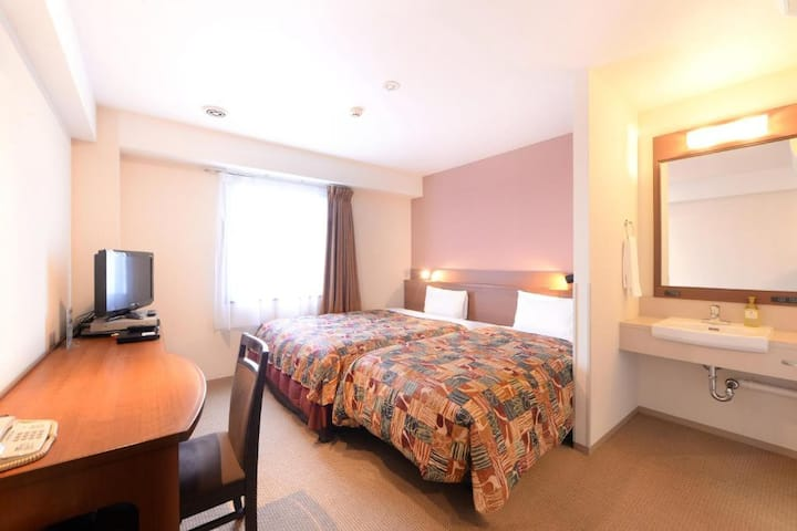Extra Bed Twin/Smoking/21 sqm/Breakfast