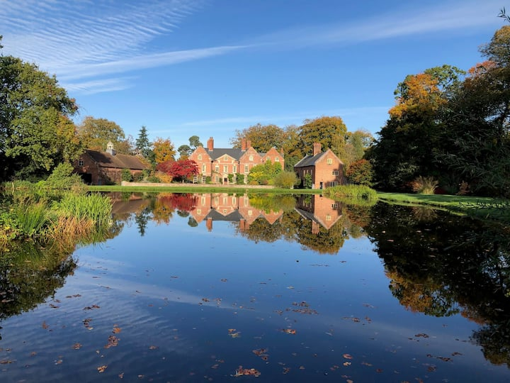 Whitton Hall Bed & Breakfast Double Room
