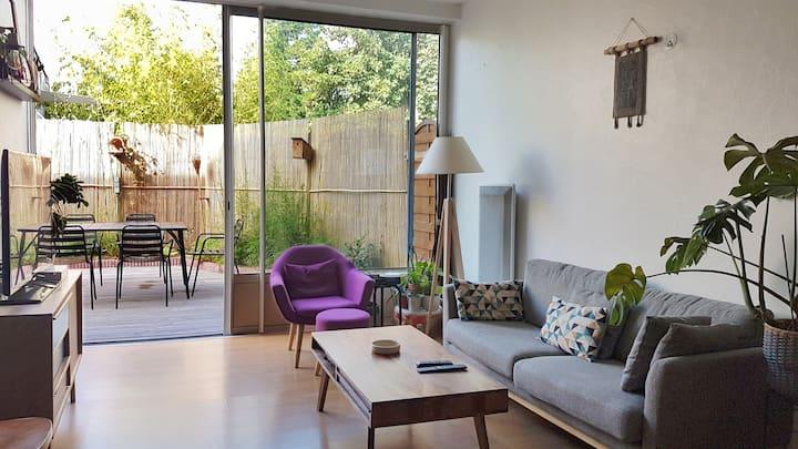 Chaleureux T3 de 72m²  - superbe terrasse