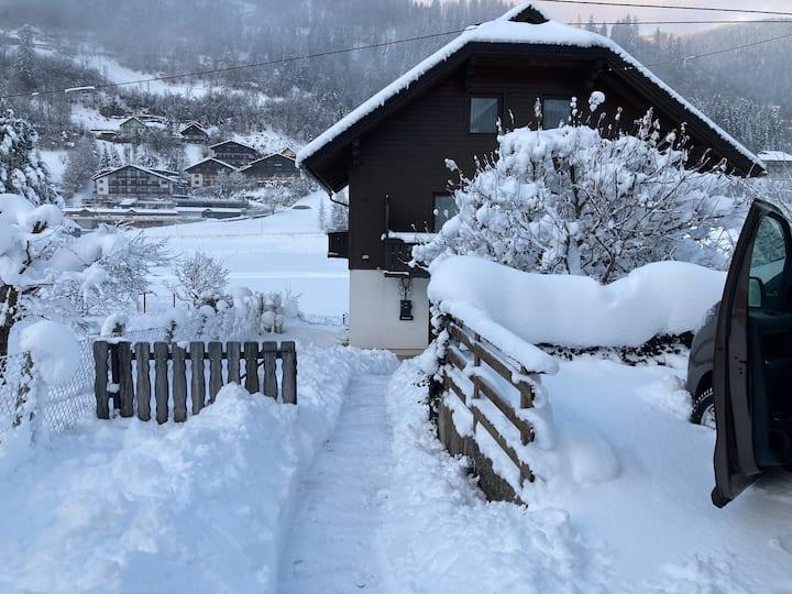 FeWo in Kärnten an der Skipiste und MTB Flowtrail