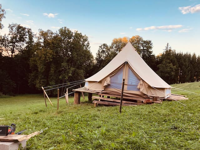 camp dé glamp