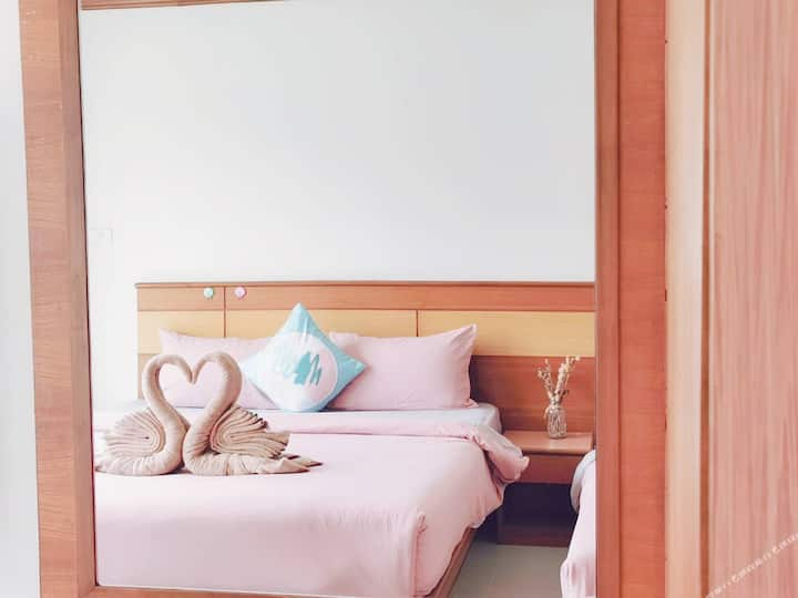 Hot/patong center Deluxe Room/wz Kithen&Washing