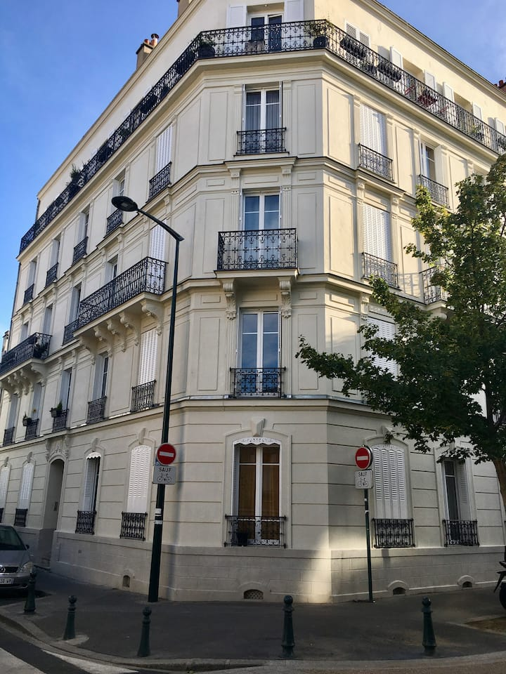 Appartement Haussmanien proche Paris