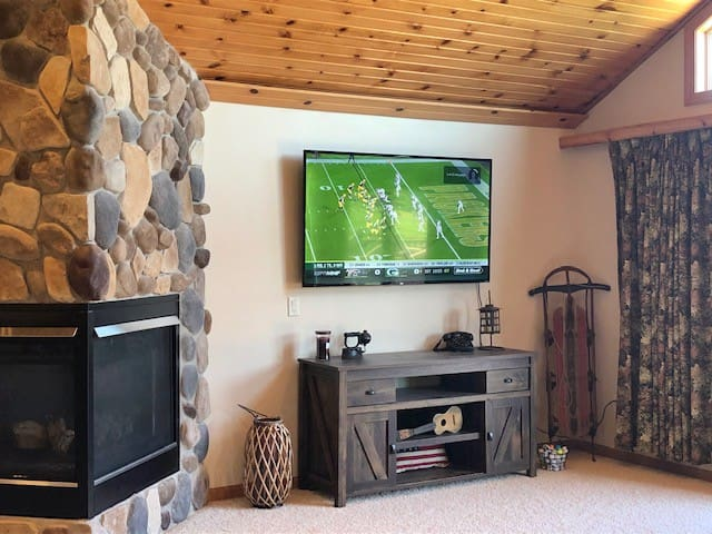 Large screen TV perfect for the big game!