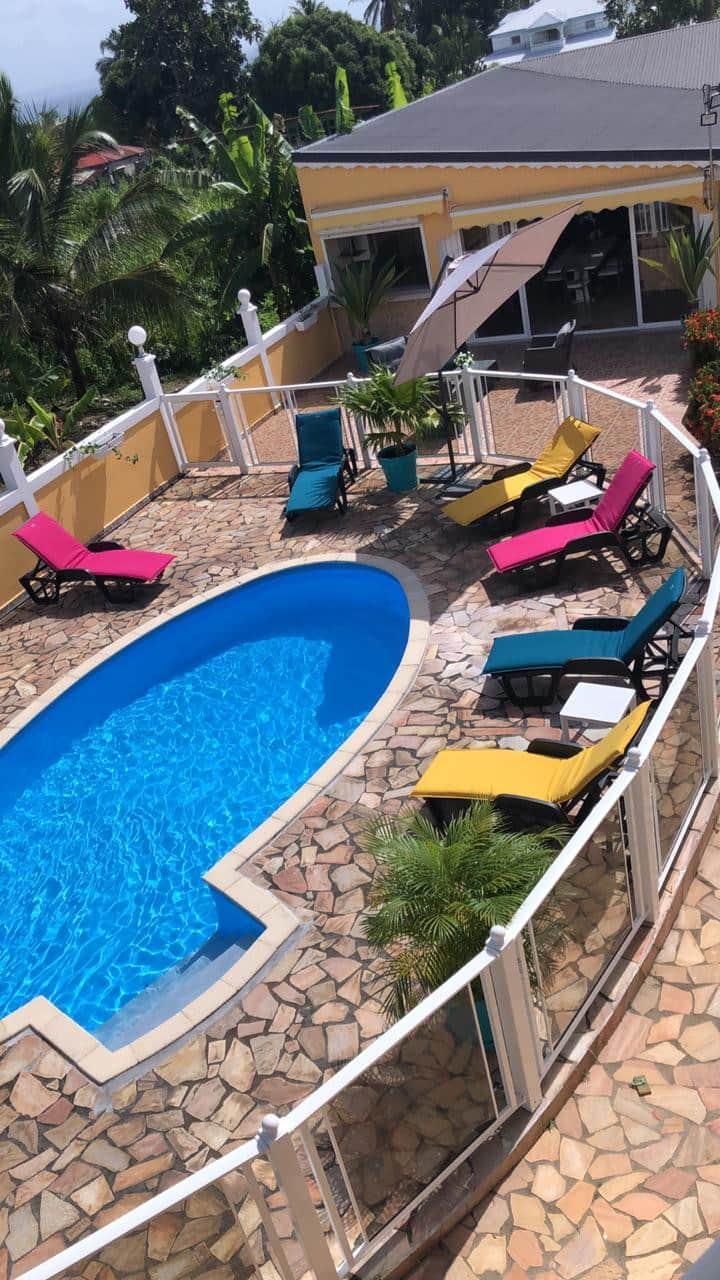 Villa Bel Air grand standing  pour 6 personnes