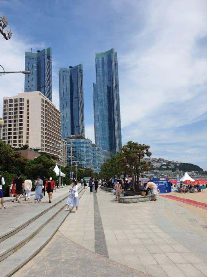 All renew apartment at Haeundae beach