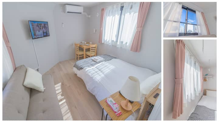 R202 Cozy Apt,Shinjuku Area.nearest sta walk 3mins