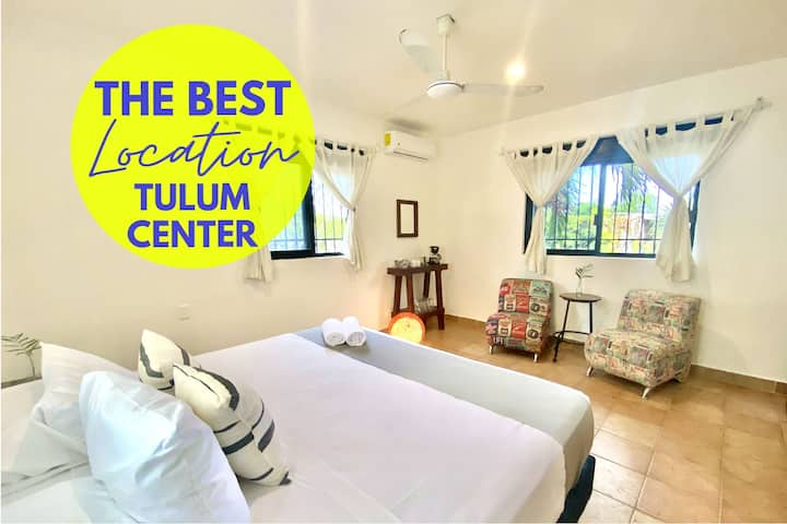 ★ Stylish studio in the heart of Tulum Downtown ★
