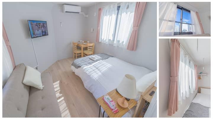 R301 Cozy Apt,Shinjuku Area.nearest sta walk 3mins