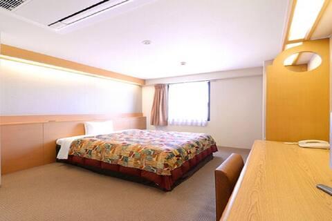1 spacious bed/NoSmoke/21 sqm/Breakfast