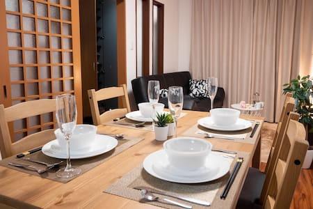 9min warabi sta, wifi, 10ppl, house 3 floor w/Loft