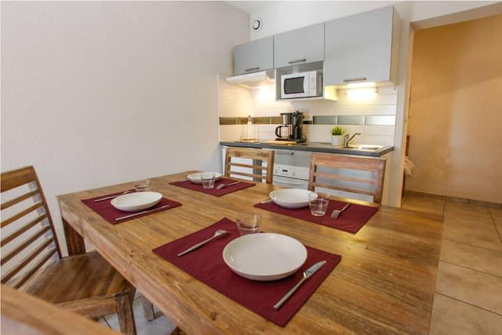 Appartement 4 pers. en résidence proche Draguignan