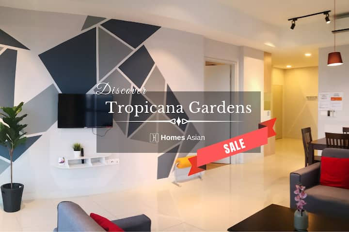 Tropicana two room Suite by Homes Asian . U217