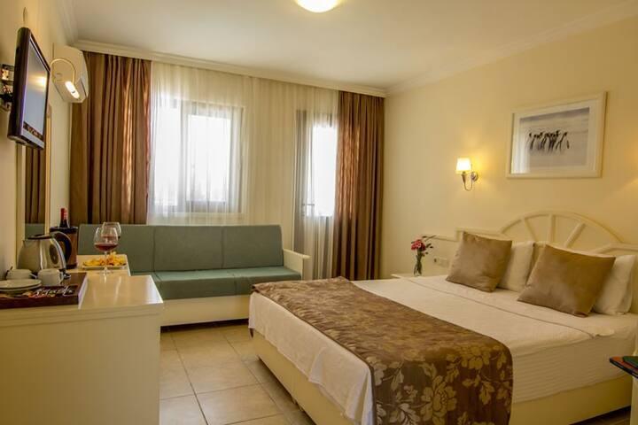Unsal Hotel Oludeniz Deluxe Room Bed & Breakfast