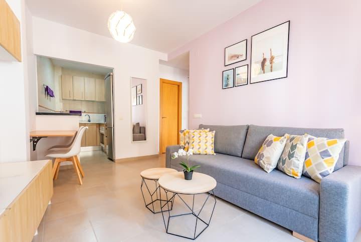 Peaceful apartment in Malaga Center