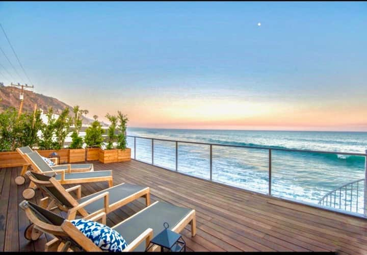 $8 Million Oceanfront Residence with Private Beach