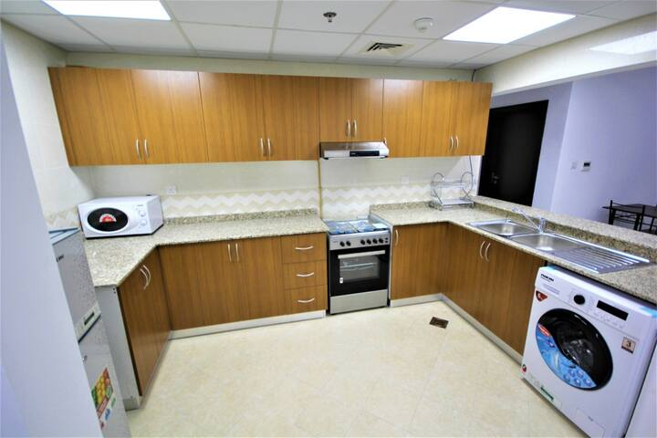 Furnished One bedroom Apt for two person in Dubai.