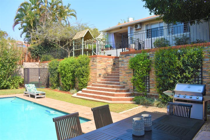 ☀Gem in Durban North║Pool║AC║Wi-Fi║Netflix║DSTV☀