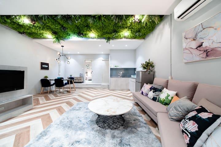 Loft Space|台北車站/獨棟/8-10pax/雙衛浴/廚房/ Chill & Cozy
