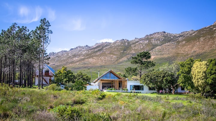 Beautiful family home on smallholding in mountains