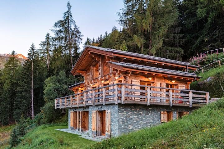 Authentic Swiss Spa Chalet Jacuzzi & Sauna